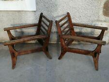 Paire de fauteuils design armchair