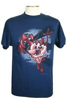 Vintage Looney Tunes Men's Size L T-Shirt, Tasmanian Devil, Taz Bungee School