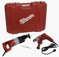 New Milwaukee 6509-24 Combo Kit with 3/8-Inch Magnum Drill and Sawzall