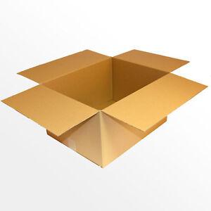 240 Kartons 450x350x250 mm Faltschachteln Faltkartons Pappkarton Paket Post Box