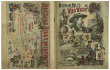 1898 Program for ''Buffalo Bill's Wild West'' Show