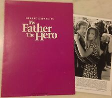 MY FATHER, THE HERO (1994) Press Kit Folder, Photos; Katherine Heigl, Depardieu