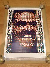 Invader Rubik Kubrick II (Jack Nicholson The Shining) Print x/300 POW Sold Out
