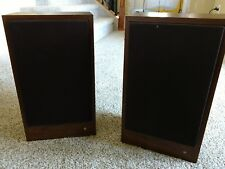 Teledyne AR18s Speakers for Parts or Repair Good Cabinets