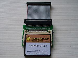 Amiga 600 4GB 2.1 Classic  Whdload 18.5 / Games CF Hard Drive