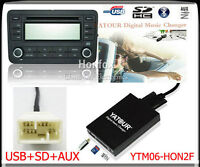 Yatour Digital CD Changer for Honda Goldwing GL1800 MP3 USB SD AUX  Interface