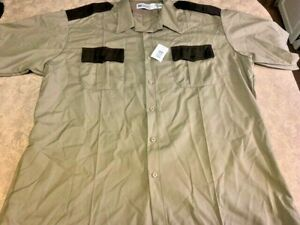 Men's ~HORACE SMALL Deputy Deluxe Sheriff Uniform Shirt -XXL (18.5)~ BRAND NEW