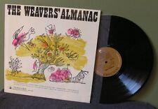 "The Weavers ""Almanac"" LP VRS 9100 Pete Seeger Bob Dylan Woody Guthrie"