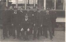 Wien XV: Gruß von Rudolfsheim ( Fotokarte 1936 Strassenbahn Fahrer Bahn usw )