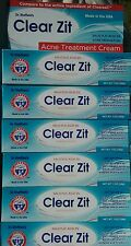 6 PACK CLEAR ZIT ACNE TREATMENT CREAM PIMPLE BLEMISH BREAKOUT 2% Salicylic Acid