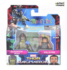 Marvel Minimates TRU Toys R Us Thor Ragnarok Movie Gladiator Hulk & Valkyrie