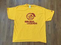 ASU Sun Devils Arizona State University Legends PEACH BOWL Size 2XL XXL T Shirt!