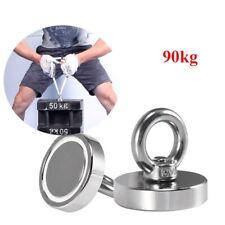 Magneti neodimio Potente magnete da pesca Salvataggio Metallo Recupero 90Kg