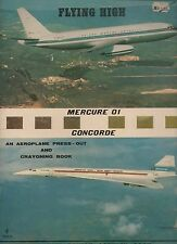 FLYING HIGH CONCORDE AN AEROPLANE PRESS OUT AND CRAYONING BOOK BRIMAX PAPERBACK