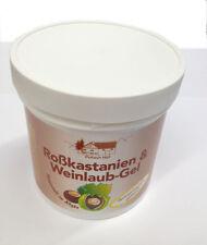5x 250 ml Marronnier feuilles de vigne Gel Veine Crème Soin Pullach Hof