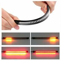 Universal Motorcycle Tail Brake Stop Turn Signal Integrated 48 LED Light Strip