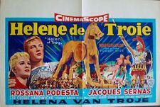 HELEN OF TROY Belgian movie poster 14x22 BRIGITTE BARDOT Rare