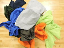 10 Pound Box Recycled Textile Wiping Cloths / Rags Household or Business Use
