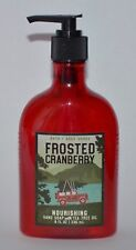 1 BATH & BODY WORKS FROSTED CRANBERRY NOURISHING HAND SOAP WASH TEA TREE OIL