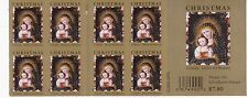 U.S. 2-SIDED BOOKLET PANE SCOTT#4100a 2006 39ct XMAS MADONNA  P#P1111 UNDER FACE