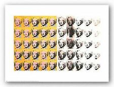 POP ART PRINT Marilyn Monroe 50 Images Andy Warhol