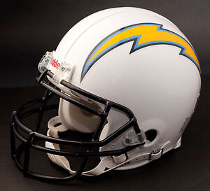 PHILIP RIVERS Edition SAN DIEGO CHARGERS Riddell REPLICA Football Helmet