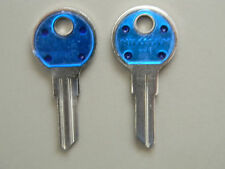 2 Yale Y11 Key Blanks - Blue