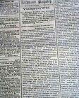 BATTLE OF SHILOH w/ P. G. T. Beauregard's Report 1862 CONFEDERATE Newspaper