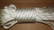 "7/16"" (11mm) x 70' Halyard Line, Dyneema Double Braid Line, Boat Rope -- NEW"