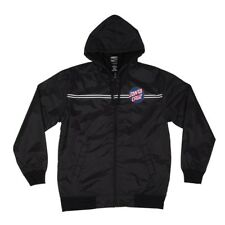 Santa Cruz Classic Dot Hooded Windbreaker Jacket Black w/Blue Dot Xl