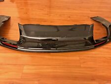 OEM 16-17 Camaro SS Rear Bumper Lower Diffuser 23449955 Black