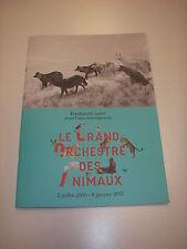 Dossier de presse LE GRAND ORCHESTRE DES ANIMAUX Pierre Bodo Guo-Qiuang Depardon