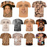 Funny Actor Nicolas Cage Casual 3D Print T-Shirt Women Men Short Sleeve Tee New