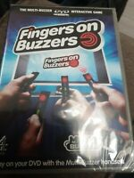 Fingers on Buzzers Interactive DVD Game Brand New Sealed Original UK Release R2