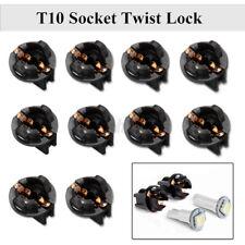 10x T10 Wedge Dashboard Panel Dash Light Bulb Base Socket Twist Lock 192 168