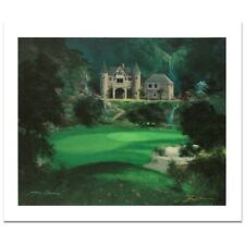 "JAMES COLEMAN ! ""Dream Green Come True"" LIMITED EDITION Lithograph with C.O.A."