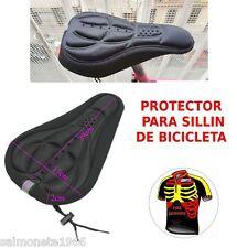PROTECTOR ACOLCHADO PARA SILLIN DE BICICLETA DE CARRETERA Y MTB FUNDA ACOLCHADA
