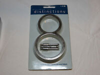 Hillman Distinctions 843218 5 inch Brushed Nickel floating house number # 8 NOS