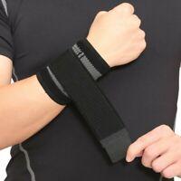 2pcs Sport Wrist Band Brace Wrap Adjustable Support Gym Strap Bandage Belt Cool