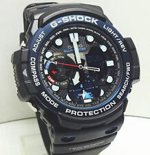 Casio Men's G-Shock GulfMaster Twin Sensor Resin Strap Watch GN1000B-1A