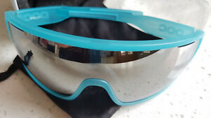 Poc Do Blade Kalkopyrit Blue Clarity Silver Mirror/CAT3 Cycling Glasses BN