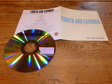 COHEED AND CAMBRIA - THE COLOR BEFORE THE SUN!!!!!!!!RARE PROMO CD!!!!!!!!!!!!!!