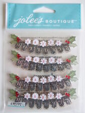 Jolee's Boutique 3D stickers - Happy Holidays Repeats - Christmas Theme