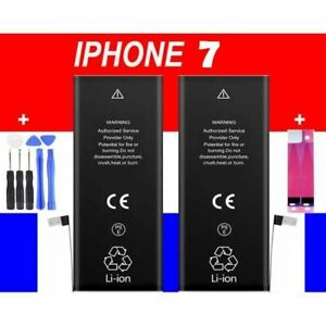 Batterie iPhone 7 / 7 Plus Interne Neuve 0 Cycle - Grade AAA + STICKER + Outils