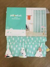 Tassel Shower Curtain Aqua Pool - Pillowfort
