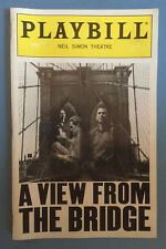 A VIEW FROM THE BRIDGE Opening Playbill Allison Janney + Brittany Murphy (1998)