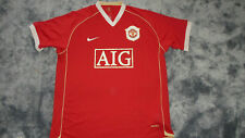 Manchester United 2006 2007 Home Nike AIG Shirt Jersey XLarge Football