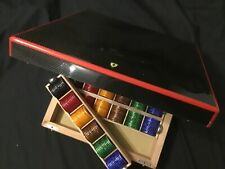 Genuine Ferrari high quality Poker chips set in Carbon Fibre box. Limited.