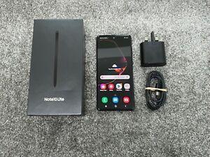 Samsung Galaxy Note 10 Lite Black SM-N770F/DS DUAL SIM 128GB Unlocked Sim-Free