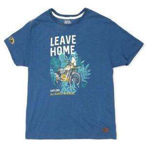 Royal Enfield Himalayan Leave Home Motorcycle Custom Scrambler Bike T Shirt